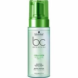 Schwarzkopf BC Collagen Volume Boost Whipped, kremowa odżywka do włosów 150ml