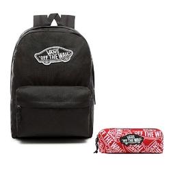 Zestaw plecak vans realm backpack + piórnik