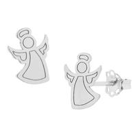 Kolczyki z aniołkiem 901