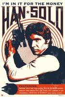 Star Wars - Han Solo - IM In It For The Money - plakat