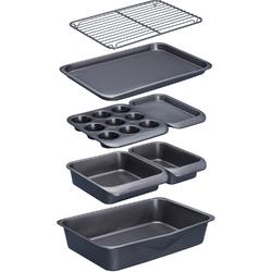 Formy do pieczenia i kratka do studzenia MasterClass Kitchen Craft 7 elementów MCSPSBAKE7PC