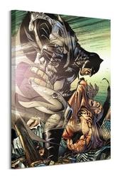 Batman interrogate - obraz na płótnie