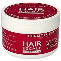 Dermofuture hair scalp peeling oczyszczający do skóry głowy z jojoba 300ml