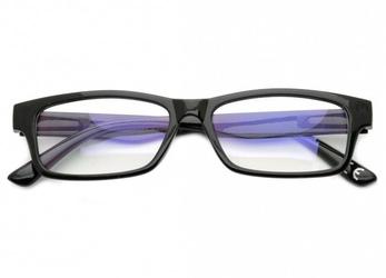 Okulary antyrefleksyjne zerówki nerdy prostokątne dr-108-c1