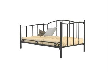 Łóżko metalowe ze stelażem teide
