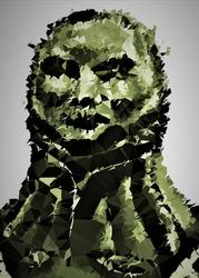 Polyamory - smough, dark souls - plakat wymiar do wyboru: 20x30 cm