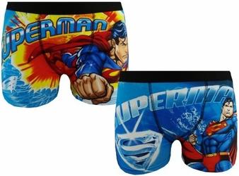 Męskie bokserki superman 2-pak s