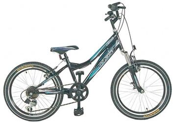 Rower r-land king 20 czarno - niebieski