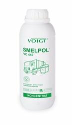 VC 440 Smelpol, skoncentrowany, antybakteryjny preparat rozkładający szkodliwe związki siarkowodorowe, zachodzące w procesach gnilnych, 1l