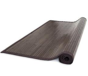 Mata bambusowa, dywanik bambusowy 120 x 180 cm ciemnobrązowy