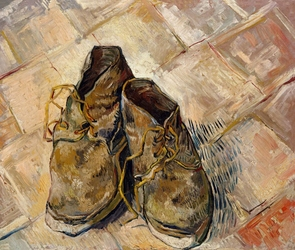 Buty, vincent van gogh - plakat wymiar do wyboru: 91,5x61 cm
