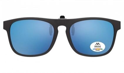 Nakładki polaryzacyjne na okulary korekcyjne montana c55 lustrzane