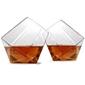 zestaw 2 szklanki do whisky diament w pudełku - 2 x 350 ml