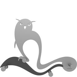 Wieszak ścienny Owl CalleaDesign aluminium 13-007-2