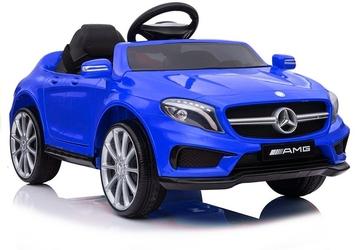 Mercedes amg gla45 niebieski lakierowany samochód na akumulator + pilot