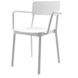 Krzesło do kawiarni lisboa z podłokietnikami