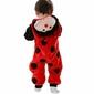 Piżama onesie kigurumi dla dzieci biedronka