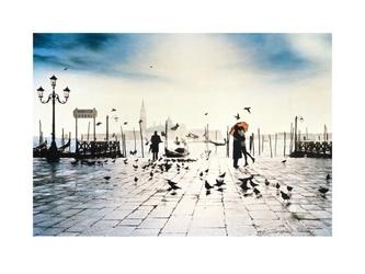 Wenecja - il bacio - reprodukcja