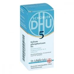 Biochemie dhu 5 kalium phosphor.d 3 tabl.
