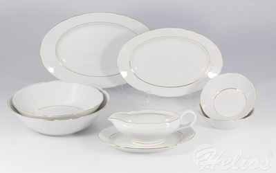 Serwis obiadowy bez wazy dla 12 os.44 części - 3604 feston