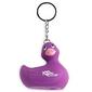 Breloczek - i rub my duckie keychain   fioletowy