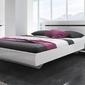 Hektor 31 łóżko 160200 - białybiały połysk