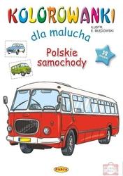 Kolorowanki dla malucha polskie samochody 5893