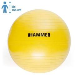 Piłka gimnastyczna antiburst 55 cm - hammer - 55 cm