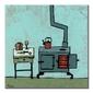 Kitchen stove - obraz na płótnie