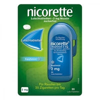 Nicorette freshmint 2 mg pastylki do ssania