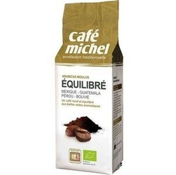 Café michel | equilibre kawa mielona 250g | organic - fair trade
