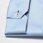 Elegancka niebieska koszula męska van thorn slim fit  z klasycznym kołnierzykiem 48