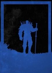 Dusk of villains - imelrith, wiedźmin - plakat