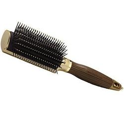 Olivia garden nano thermic styler 9 rzędów, okrągła szczotka do stylizacji i pielęgnacji włosów