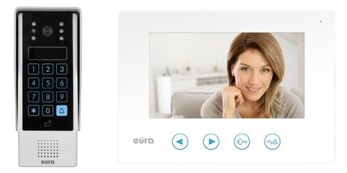 Wideodomofon eura vdp-10a3 jupiter biały  - szybka dostawa lub możliwość odbioru w 39 miastach