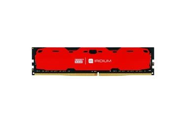 GOODRAM DDR4 IRIDIUM 8GB2400 15-15-15 10248 Czerwona