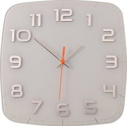 Zegar ścienny classy square biały