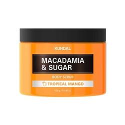 Kundal scrub do ciała- mango body scrub tropical mango 550g