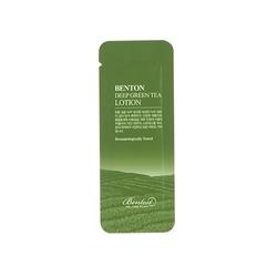 Benton lekka emulsja deep green tea lotion 1,2g tester