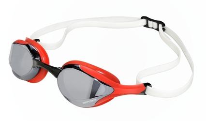 Okularki pływackie tripower wmt red black