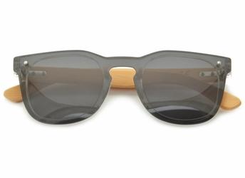 Okulary nerd polaryzacyjne pełne drewniane pol-6355