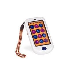 B.toys hi phone – dziecięcy telefon dotykowy smartfon - metallic biały perłowy - biały perłowy