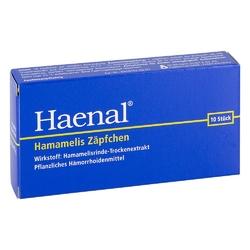 Haenal hamamelis czopki