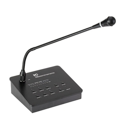 Mikrofon pulpitowy 6-strefowy itc t-216 - szybka dostawa lub możliwość odbioru w 39 miastach