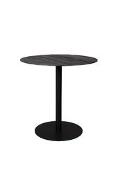 Dutchbone bistro table braza round black 2100090