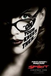 The Spirit Scarlett Johansson - plakat