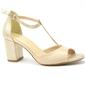 Sandały uncome 24120 beż złote