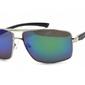 Okulary męskie dla kierowców klasyczne polaryzacyjne lustrzane pol-14a-z