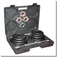 Hantle regulowane 2 x 10 kg st20 czarne - hms
