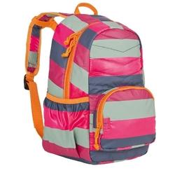 Plecak pikowany striped magenta